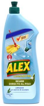 ALEX Rociador Directo al piso, la nueva generación de limpiadores, limpia las superficies en profundidad y te permite ahorrar tiempo gracias a su aplicación directa al piso