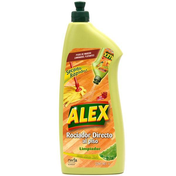 ALEX Rociador Directo al piso Limpiador es la solución más fácil y cómoda para limpiar y cuidar cualquier topo de piso de madera y laminados.